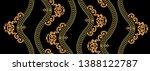 golden elements in baroque ... | Shutterstock . vector #1388122787