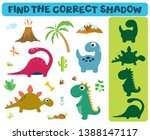 find the correct shadow ... | Shutterstock .eps vector #1388147117
