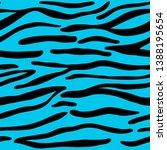 Tiger Stripes Animal Seamless...