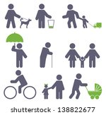 icon set | Shutterstock .eps vector #138822677