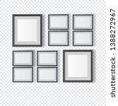 empty frames in the wall ... | Shutterstock .eps vector #1388272967
