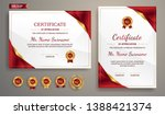 certificate of appreciation... | Shutterstock .eps vector #1388421374