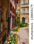 house in the old town of warsaw | Shutterstock . vector #138843179