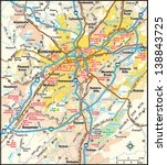 Birmingham, Alabama area map