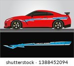 vinyls sticker decals for body... | Shutterstock .eps vector #1388452094