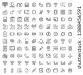 set of mobile interface icon...