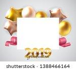 class of 2019  graduarion... | Shutterstock . vector #1388466164
