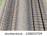 two railroad - stock photo