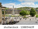 Stuttgart  Germany  Castle...