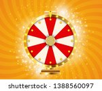 Stock vector wheel of fortune lucky background vector illustration eps 1388560097
