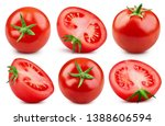 Tomato Collection Clipping Path....