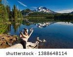 bend  oregon   7 5 2016   a... | Shutterstock . vector #1388648114