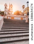 the famous spanish steps at...   Shutterstock . vector #1388654174
