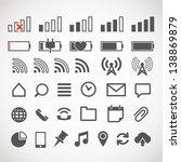 modern gadget web icons...   Shutterstock .eps vector #138869879