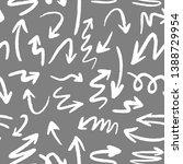 modern geometric arrow pattern. ...   Shutterstock . vector #1388729954