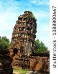 ayutthaya province  thailand  ...   Shutterstock . vector #1388800667
