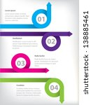infographic background design... | Shutterstock .eps vector #138885461