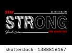 vector typography for print t...   Shutterstock .eps vector #1388856167