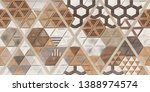 digital walltile design 3d... | Shutterstock . vector #1388974574