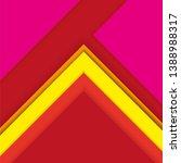 abstract vector geometric... | Shutterstock .eps vector #1388988317