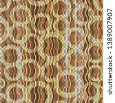 seamless pattern with colorful... | Shutterstock .eps vector #1389007907