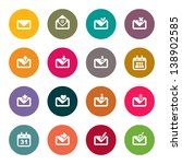 email icons | Shutterstock .eps vector #138902585