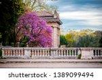 villa borghese gardens with...   Shutterstock . vector #1389099494