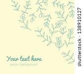 angle vintage background.... | Shutterstock .eps vector #138910127