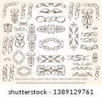 elegant elements of design... | Shutterstock .eps vector #1389129761