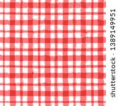 red classic checkered... | Shutterstock .eps vector #1389149951