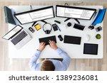 computer programmer writing...   Shutterstock . vector #1389236081
