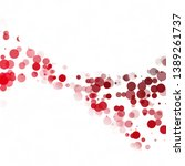 bubbles circle dots unique red...   Shutterstock .eps vector #1389261737