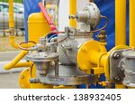 yellow gas pressure regulator... | Shutterstock . vector #138932405