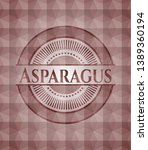 asparagus red seamless badge...   Shutterstock .eps vector #1389360194