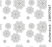 retro background  lace seamless ... | Shutterstock .eps vector #138937067