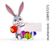 easter bunny | Shutterstock . vector #138937271