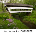 Mink Hollow Covered Bridge In...