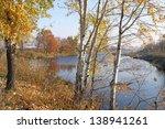 Autumn Landscape Of The River...