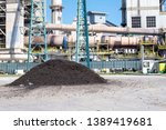 rotary kiln in cement plant... | Shutterstock . vector #1389419681