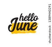 Hello June Vector Template....