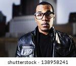 cool urban african american man ... | Shutterstock . vector #138958241