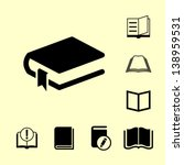 book icon for web. | Shutterstock .eps vector #138959531