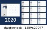 vector of 2020 new year... | Shutterstock .eps vector #1389627047