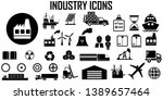 industry power factory vector... | Shutterstock .eps vector #1389657464