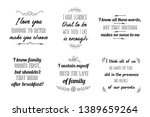 calligraphy saying for print... | Shutterstock .eps vector #1389659264