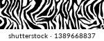 Zebra Pattern  Stylish Stripes...