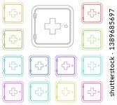 the medicine chest multi color...