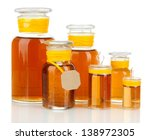 medicine bottles isolated on