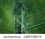 top view of a road in sri lanka | Shutterstock . vector #1389738074