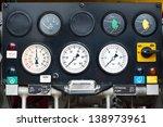 Water Pressure Gauge Panel.